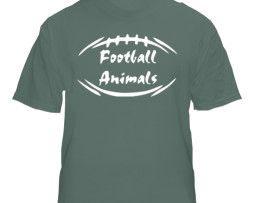 Jets Greem Football Animal T-Shirt