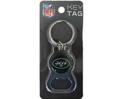 New York Jets Key Chain Bottle Opener