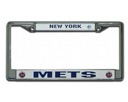 New York Mets License Plate Cover