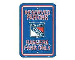 New York Rangers Parking Sign